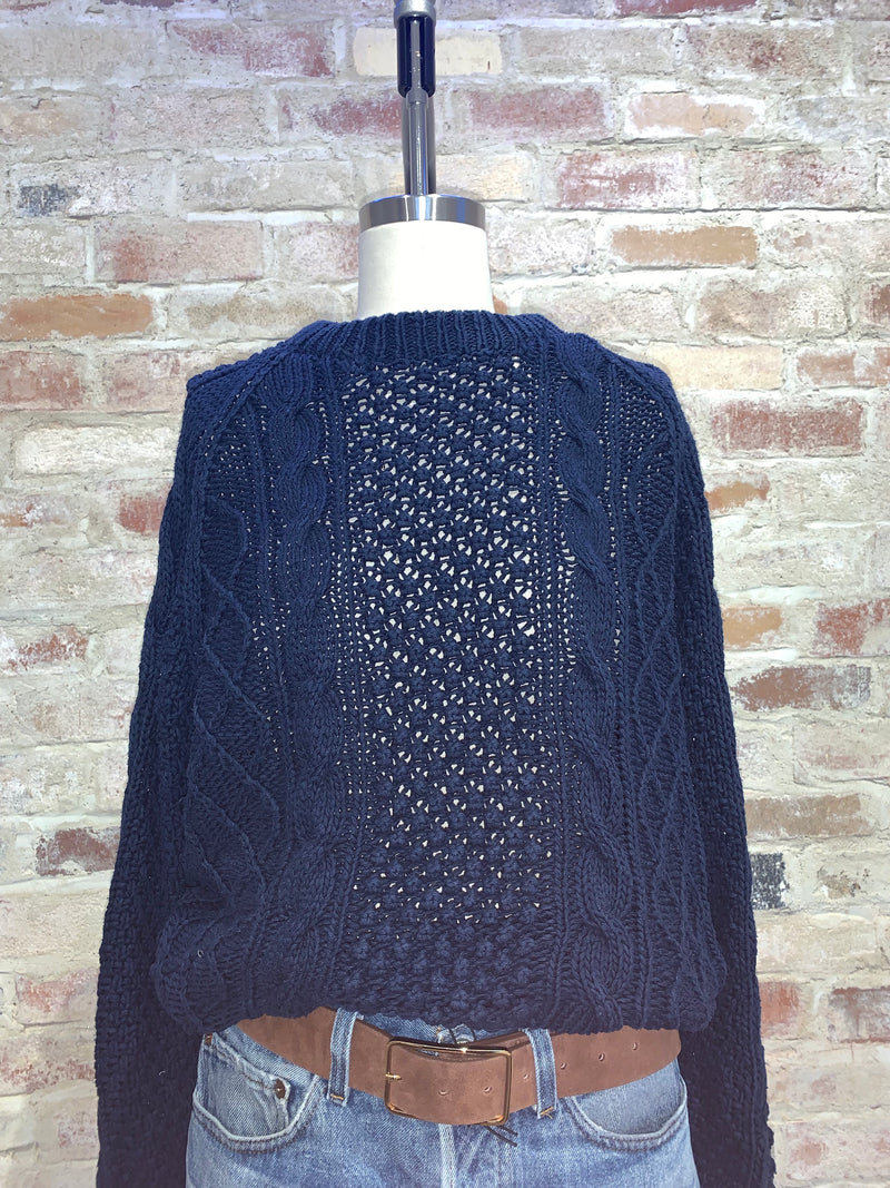 Vintage Blue Sweater