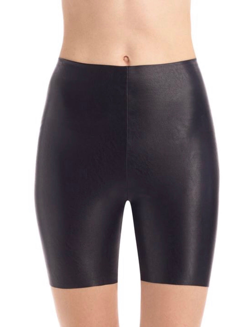 Commando Faux Leather Bike Shorts