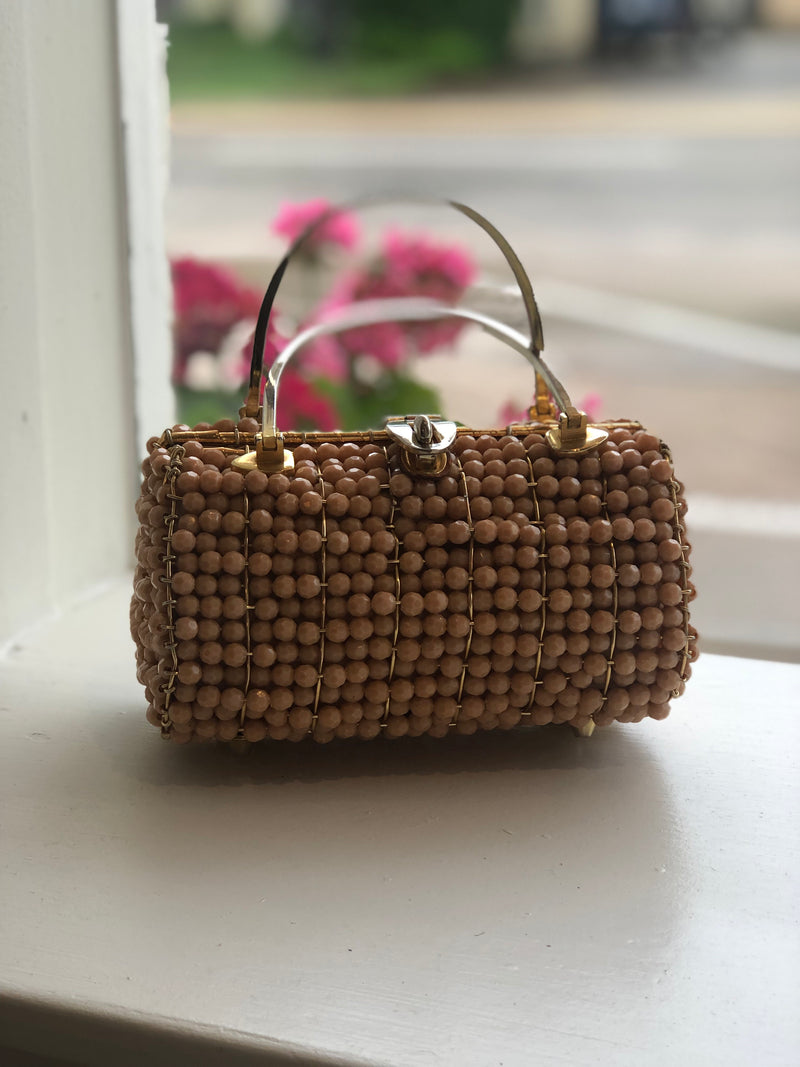 "vintage wicka weave ""made for jana"" bag"