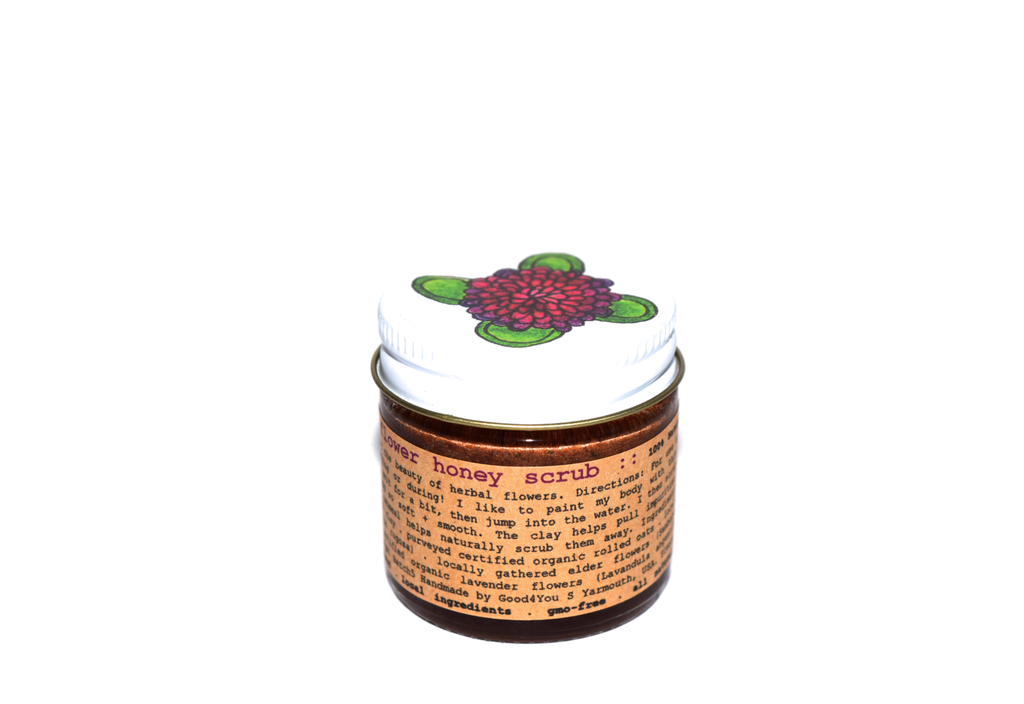 PLANT MAKEUP | Wild Flower Honey Scrub - Body Exfoliation