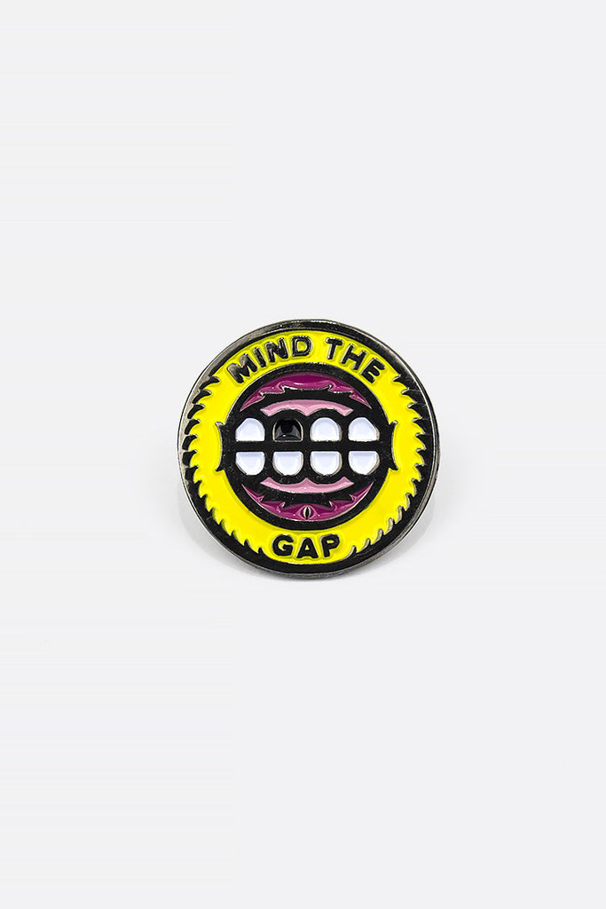 Mind the Gap Pin