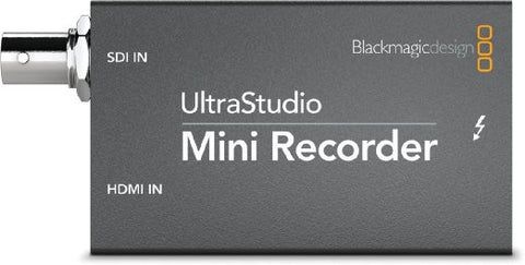 Blackmagic Ultra Studio Mini Recorder