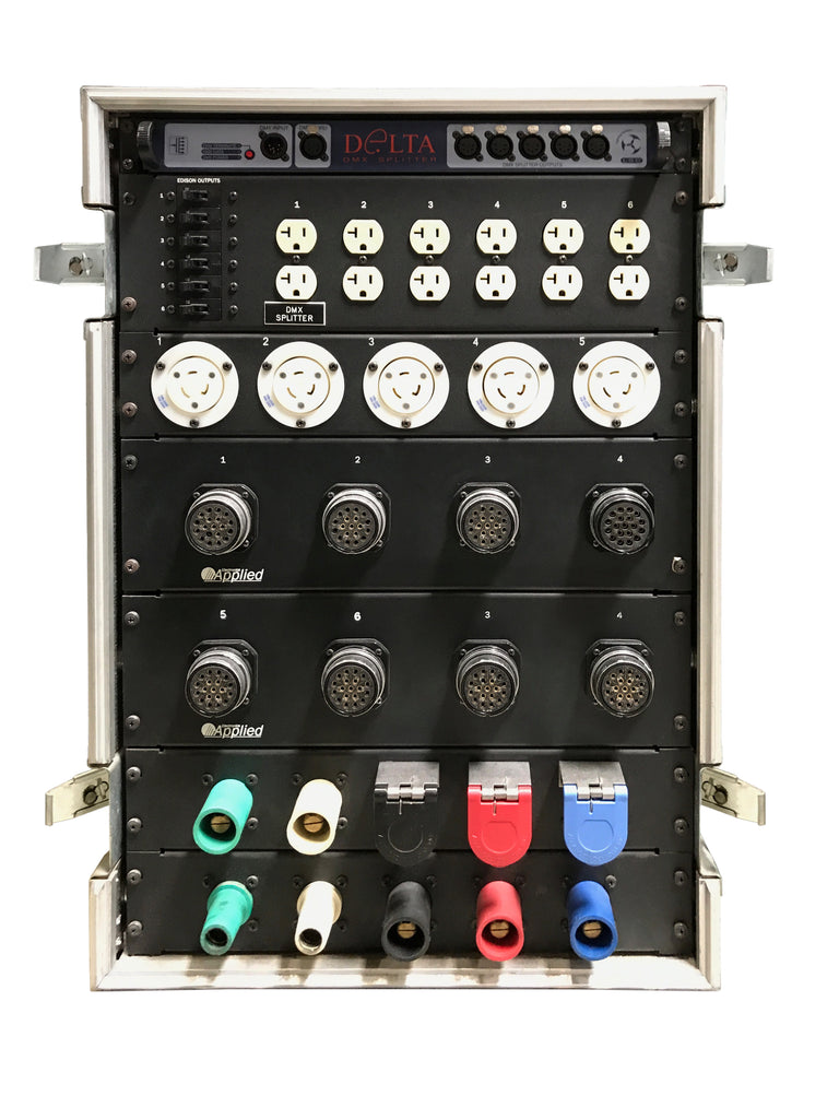 208V, 8 Soco & 5 L6-20 Distribution Panel