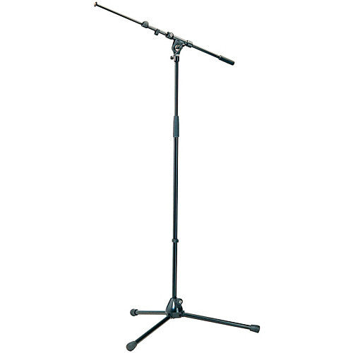 K&M Mic Stand Telescoping Boom Arm