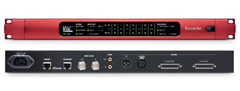 RedNet D16 AES – 16-channel AES