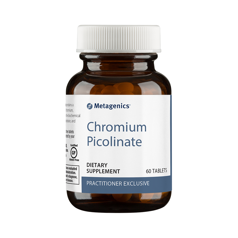 Chromium Picolinate - 60 Vegetarian Tablets