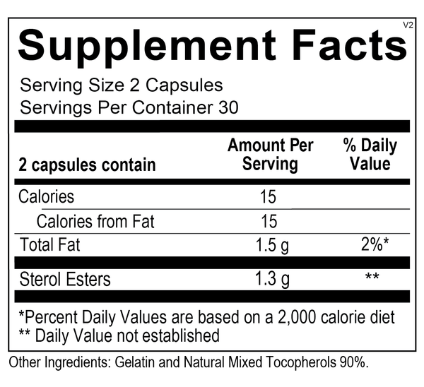 Supplement Facts for L-Chol