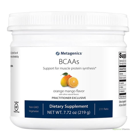 BCAAs (Powder-orange mango--30 servings)