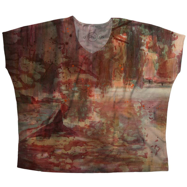 Blusa Feminina Anya Sinclair Untitled Red Frente