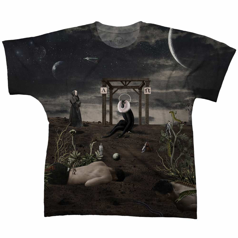 Camiseta Caco Neves Black Planet Frente