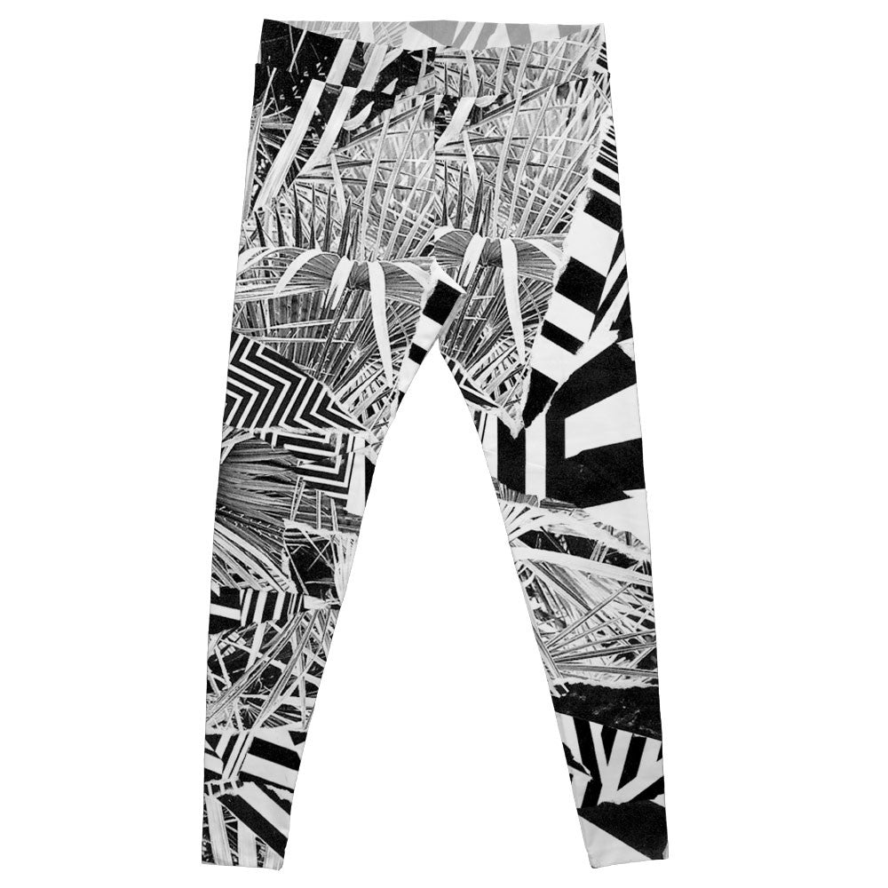 Legging Gilles Spineux Digital Palm Tree Frente