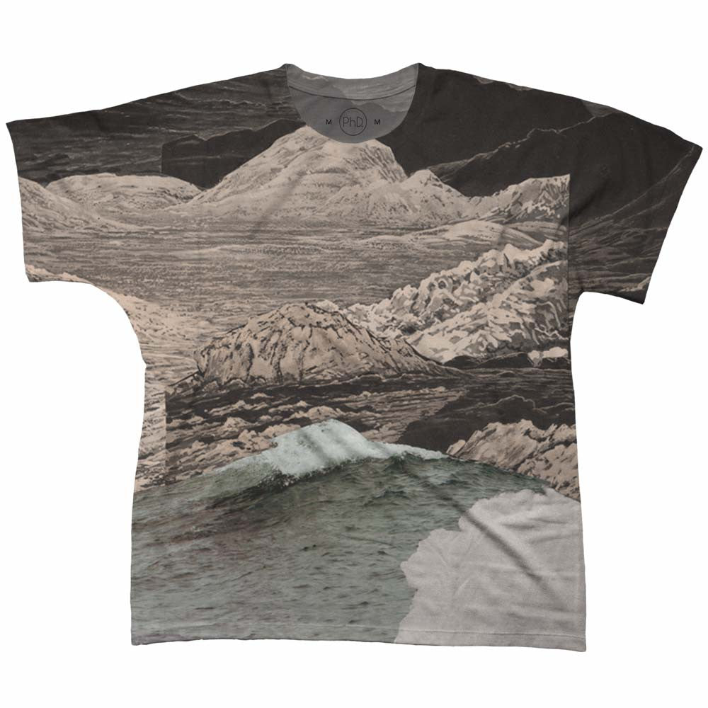 Camiseta Thais Graciotti The Landscape is a Book 21 Frente