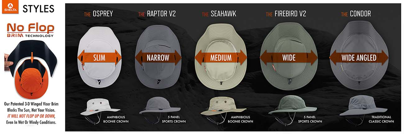 The best sun hats styles for fishing, boating, golfing, fathers day gifts, hats for big heads and high visibility