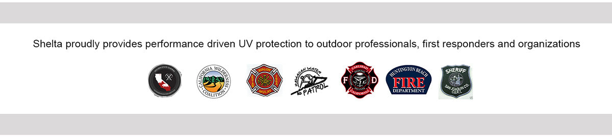 Shelta proudly provides performance driven UV protection to outdoor professionals, first responders and organizations.