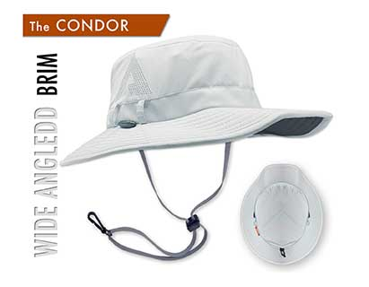 The Condor was created from feedback by our Shelta family who desired a sun hat style designed more for hot conditions and sun protection. This hat is more casual and not for the fitness related sports or activities of the other Shelta sun hats.""