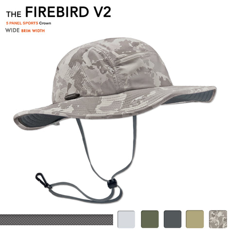 The Firebird V2 Performance Sun Hat