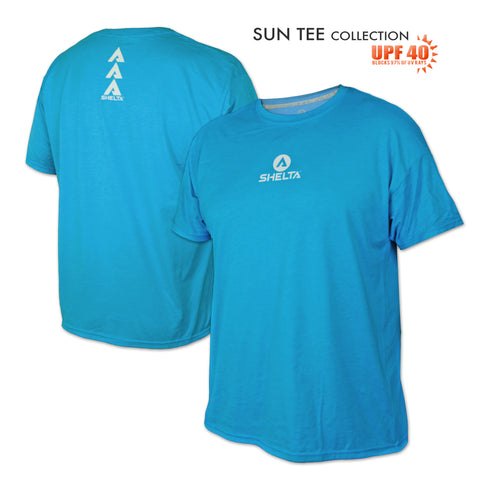 The Shelta S/S Core Logo in Turquoise
