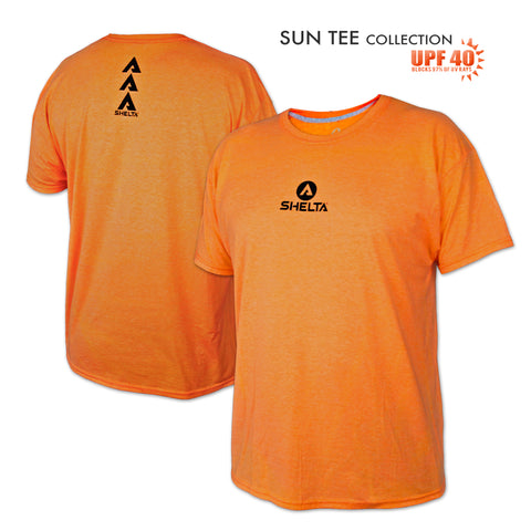The Shelta S/S Core Logo in Safety Orange