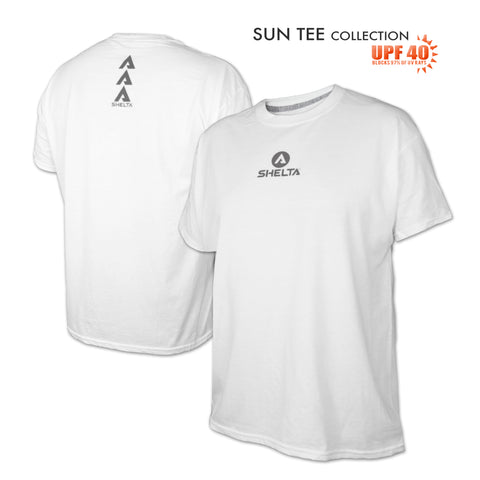 The Shelta S/S Core Logo Tee in White
