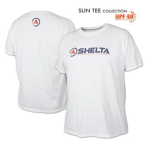The Shelta S/S Icon Logo in White