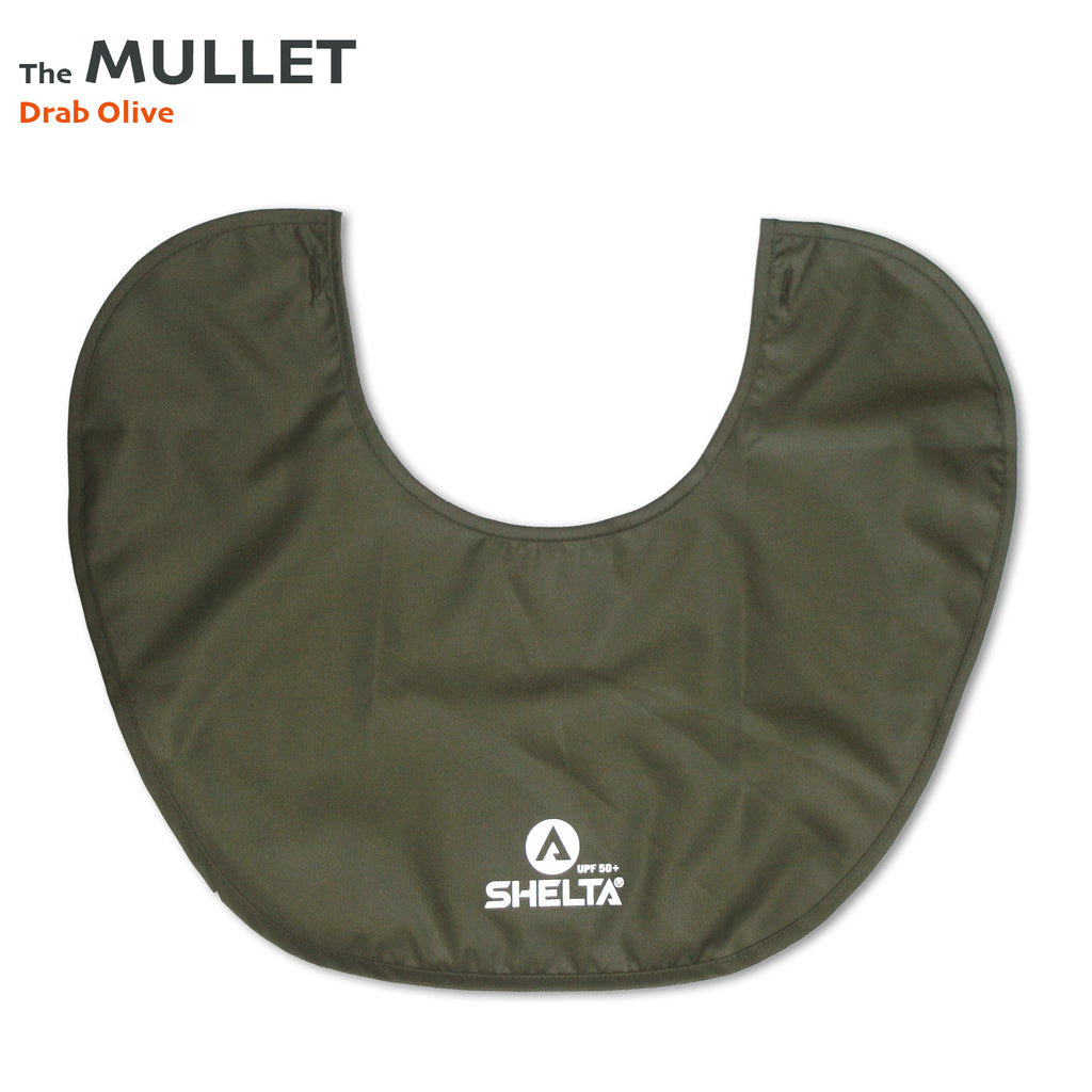 The Shelta Neck Shield in Drab Olive