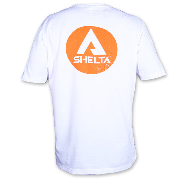 The Shelta Logo White T-Shirt