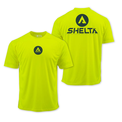 The Shelta S/S Shadow Corp in Safety Green