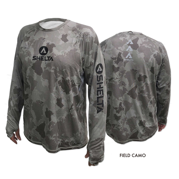 The Shelta Amphibian L/S Print Crew