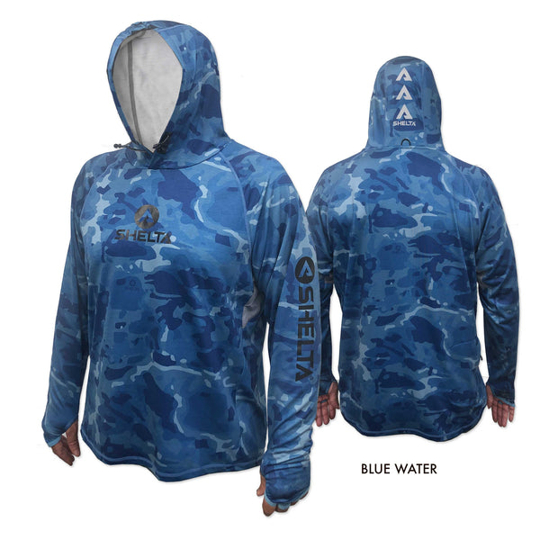 The Shelta Assault L/S Print Hood