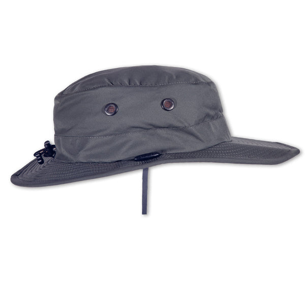 The SEAHAWK Performance Sun Hat in Storm Grey