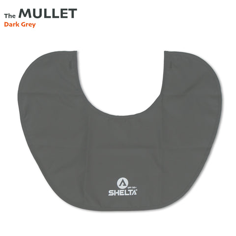 The Shelta Neck Shield in Dark Grey
