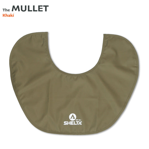 The Shelta Neck Shield in Khaki