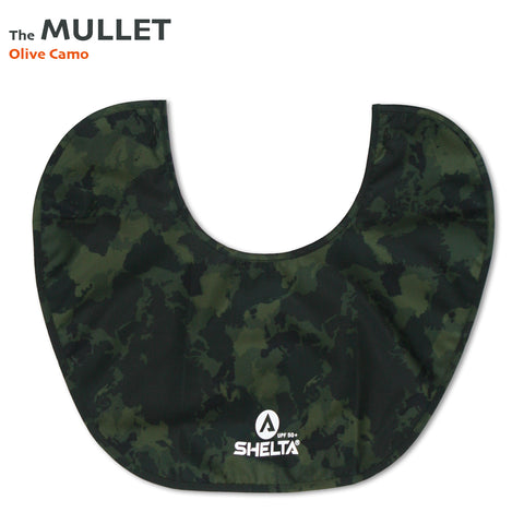 The Shelta Neck Shield in Olive Camo