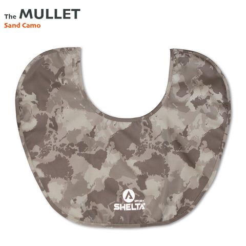 The Shelta Neck Shield in Sand Camo