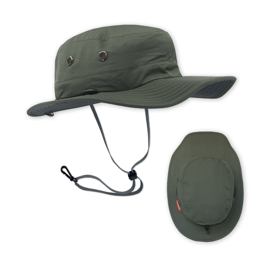 The Osprey Performance Sun Protection Hat in Dark Coal – Sheltahats 4e509b9dd732