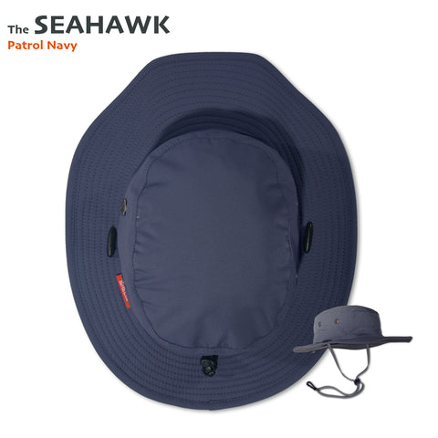 The SEAHAWK Performance Sun Hat in Patrol Navy