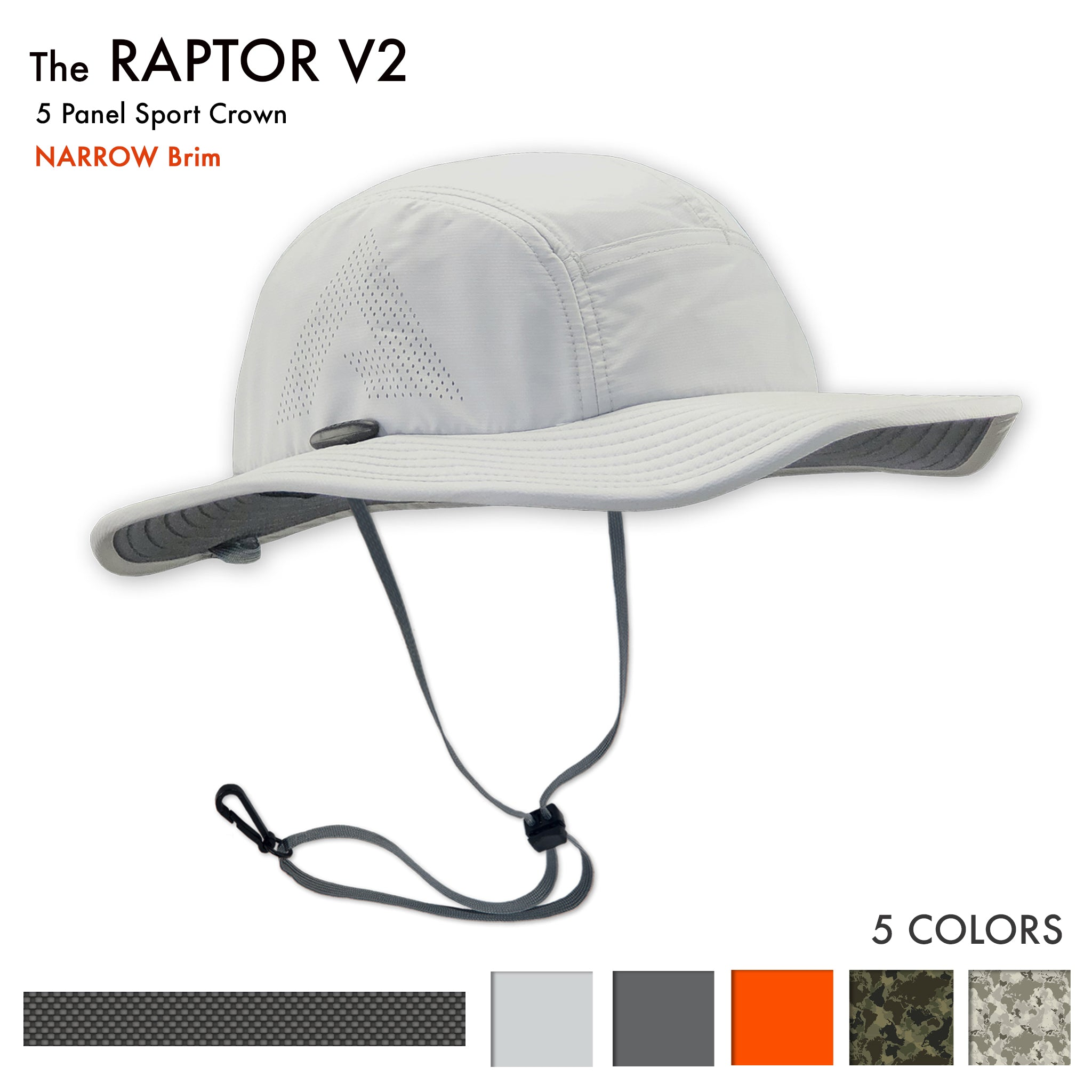 Raptor V2 Sun Hat -The Raptor Sun hat is the best Sun Hat for Jogging, trail running, fly fishing, archery, outrigger paddling, tennis and stand up paddling, sup. It is a great sun hat for canoeing, beach volleyball, hiking and golfing. It is a good sun hat for shooting, kayaking and climbing.