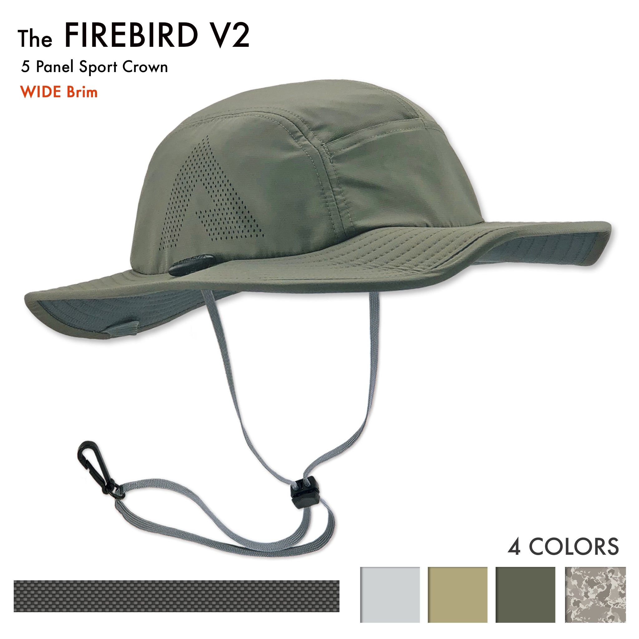 The Firebird sun hats are the best Sun Hats for hiking, golfing, rowing, jogging, trail running, fishing and sailing. Its a great sun hat for Boating, Fly fishing and sup - stand up paddle boarding. And a good sun hat for Shooting, horse riding, canoeing and taking video or pictures. The perfect photographer sun hat