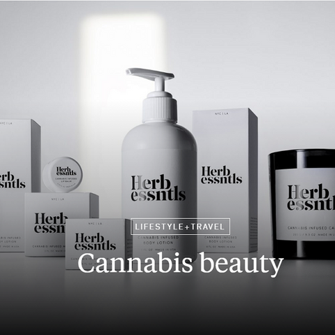 cannabis beauty
