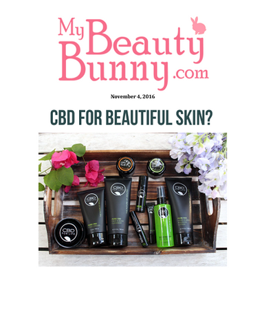 CBD for beautiful skin