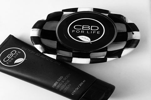 skincare and body line with pure cannabidiol cbd extract