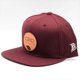 CBD For Life Snap back - MAROON