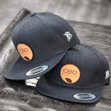 CBD For Life Snap Back - Dark Heather Gray