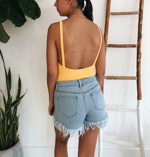 Kiara Bodysuit - Yellow