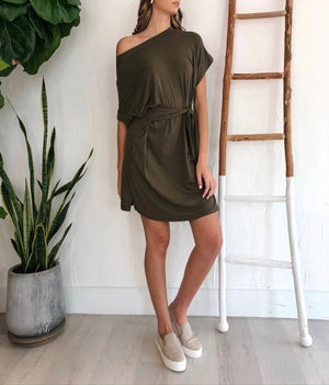 Stacy Dress - Olive