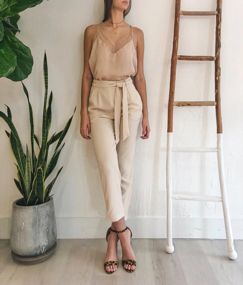 Kim Pants in Tan