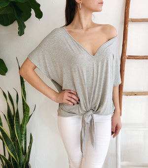 Layla Top - Gray