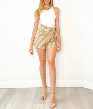 Blake Shorts in Taupe