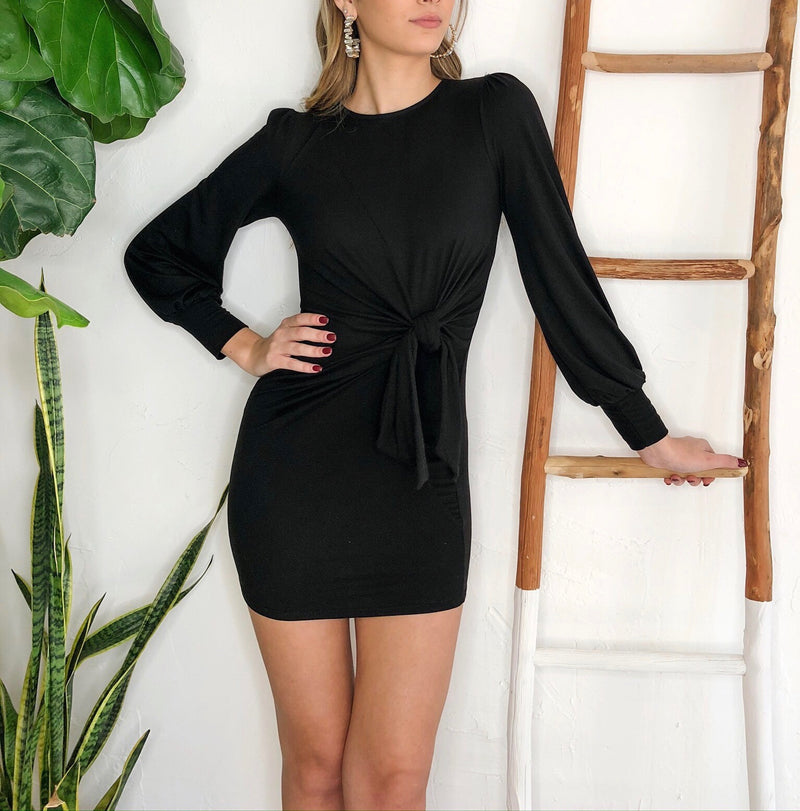 Valeria Dress - Black