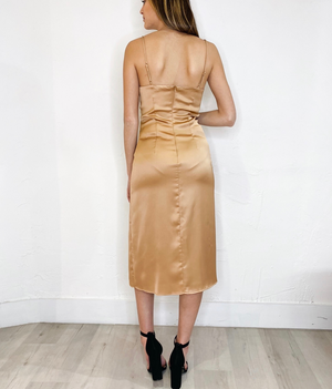 Anto Dress in Gold